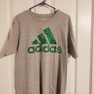 Adidas Gray Graphic Tee